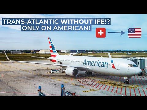 TRIPREPORT (Transatlantic WITHOUT IFE) | American (ECONOMY) | Boeing 767-300 | Zurich - Philadelphia