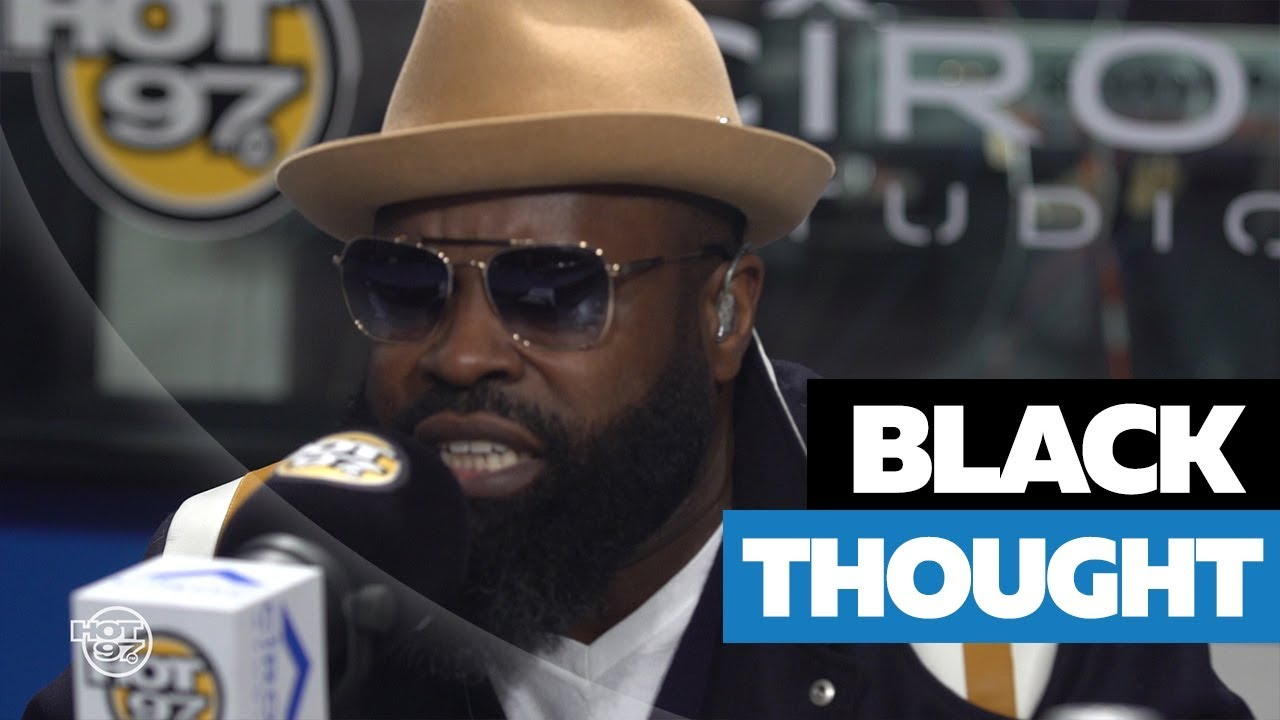 Black Thought Freestyles On Funk Flex