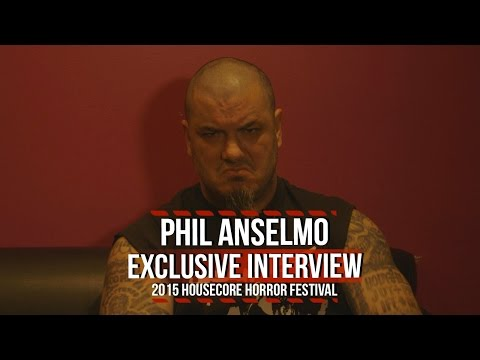 Philip Anselmo on 2015 Housecore Horror Festival + Honoring Corey Mitchell