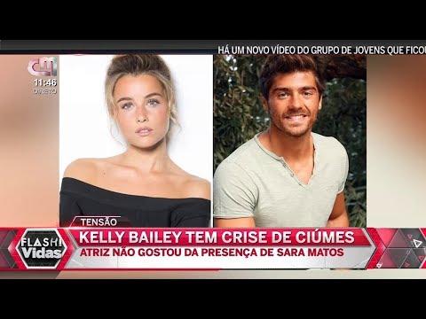 KELLY BAILEY Tem CRISE de CIÚMES Por Causa de SARA MATOS - 04 JULHO 2018