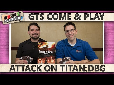 GTS 2016 - Attack On Titan - Deck Building Game