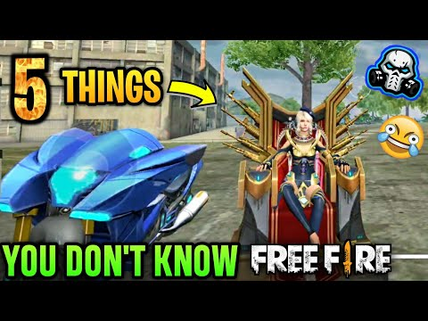5 Things You Don't Know 😲 About Free Fire    PART - 4 🔥🔥🔥
