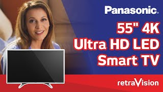 "Panasonic 55"" 4K Ultra HD LED Smart TV TH-55DX600U   Retravision"