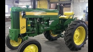 320-S John Deere 1957 Tractor - coming up for sale Feb. 2016
