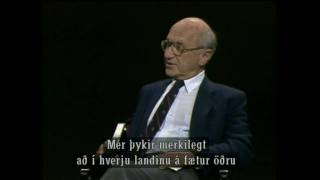 Milton Friedman on his Ideal Society