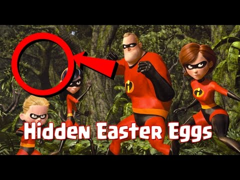 The Incredibles Easter Eggs, Let's Find All Pixar's Hidden Secrets!