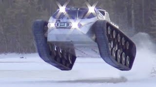 10 COOLEST SNOW VEHICLES IN THE WORLD