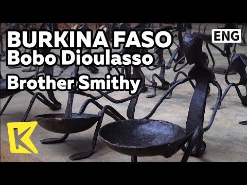 【K】Burkina Faso Travel-Bobo Dioulasso[부르키나파소 여행-보보디울라소]형제 대장간/Brother/Smithy/Blacksmith