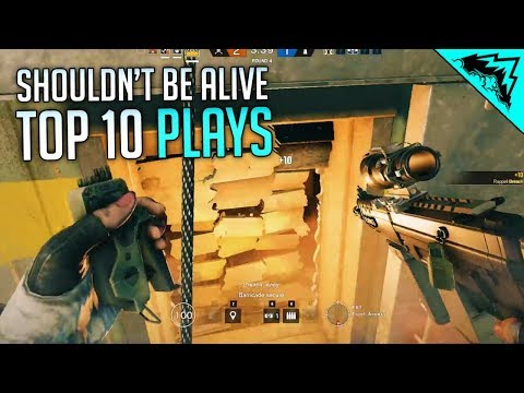 THESE SHOULDN'T HAPPEN - Top 10 Plays Rainbow Six Siege (Bonus Plays #66)