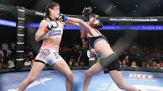 Top MMA Finishes and KOs:  Melissa Martinez vs. Gloria Bravo | #30Days30Finishes | Combate Americas