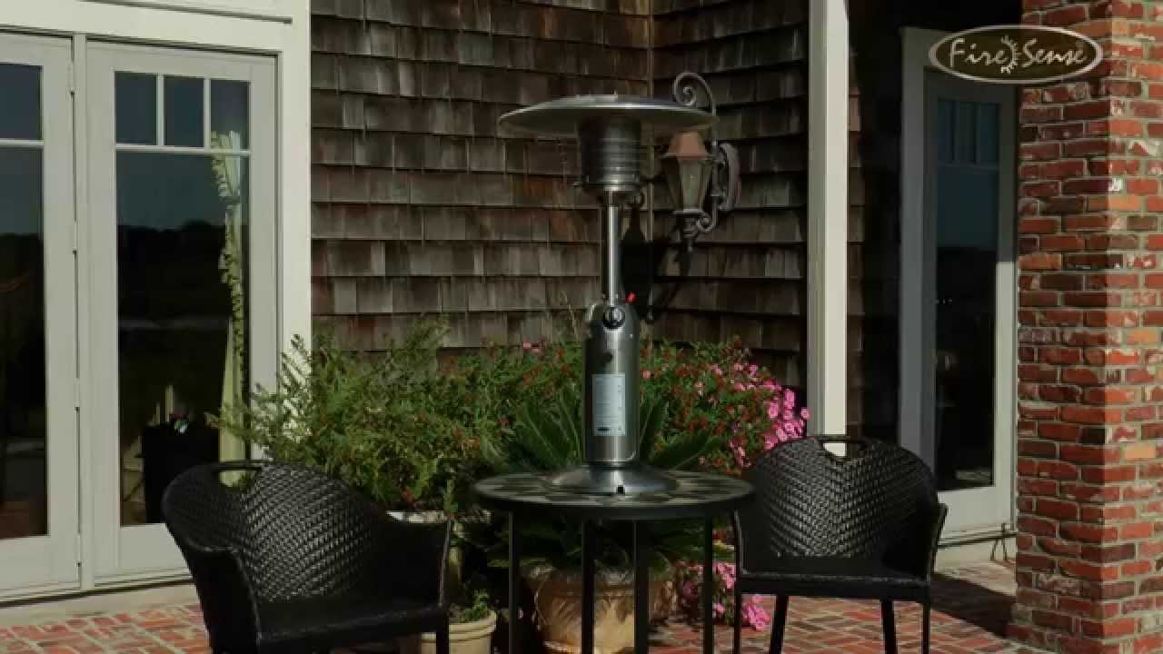 Stainless Steel Table Top Patio Heater #60262   YouTube