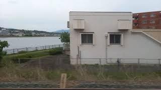 鹿児島本線 811系 快速 モハ811-108 走行音 吉塚~千早