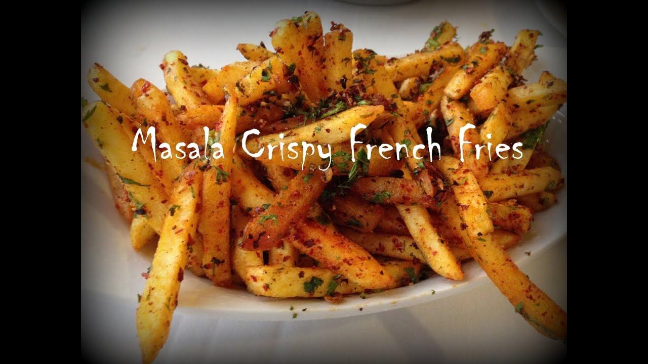 how to make home cut fries crispy