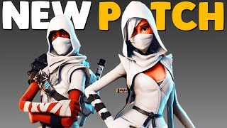 SQUAD UPDATE / PATCH NOTES | Fortnite Battle Royale