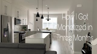 How I Got Monetized in Three Months |Law of Attraction Story | My Minimalist Reset Routine