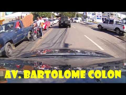 Driving downtown - Santiago De Los Caballeros - Dominican Republic - part 2