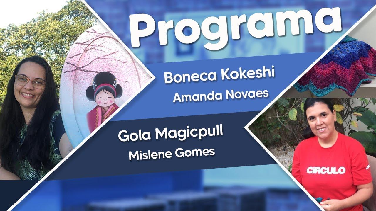 Participação agendada - Programa Ateliê na  TV - Gazeta (20/04/21)
