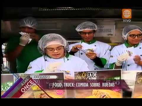 A Las Once: Food Truck, Sabor Sobre Ruedas En Mistura
