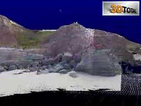 3D Total - Coast Cliff at Lourinhã Laser Scanning