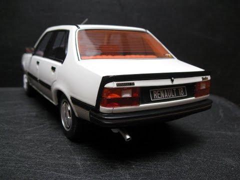 [►] Renault 18 Turbo phase 1 │1981 ► OttO mobile models 1:18 [OT060]