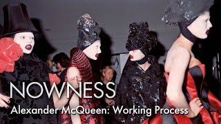 """""""Nick Waplington/Alexander McQueen: Working Process"""" by Tate"""