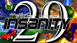 ROCKET LEAGUE INSANITY 29 ! (BEST GOALS, INSANE REDIRECTS, FLICKS, RESETS)