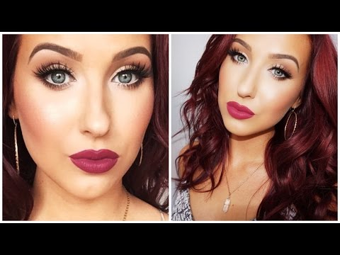 Bright Eyes + Bold Lips - Makeup Look For Small / Tired Eyes   Jaclyn Hill