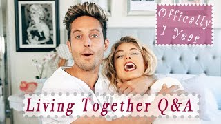 Living Together Q&A... The Truth   Angelique & Sawyer Hartman