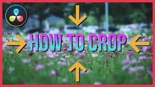 How to Crop Viḋeo in DaVinci Resolve 17 Tutorial