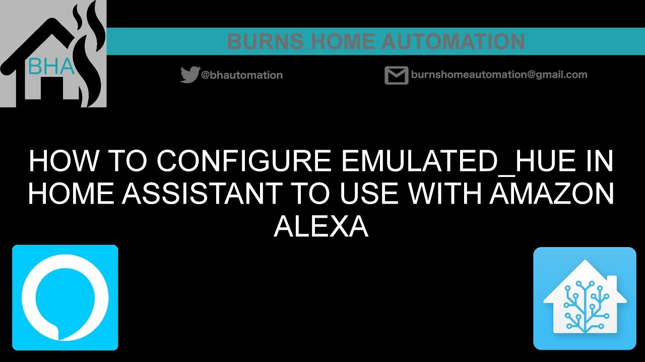 How to configure Emulated Hue in Home Assistant to use with Amazon Alexa