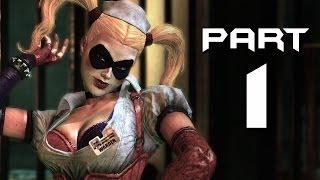 Batman: Arkham Asylum Walkthrough Part 1 - JOKER & HARLEY QUINN