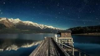 Ночное небо и сакура. Картинки.
