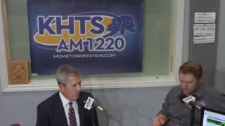 Mark White  - City Council Applicant On KHTS (Jan 9, 2017) -- Santa Clarita