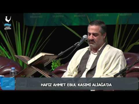 HAFIZ AHMET EBUL KASIMİ ALİAĞA'DA