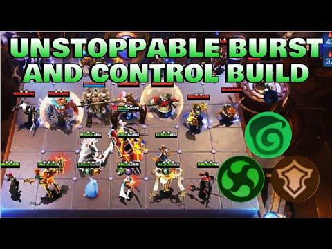 UNSTOPPABLE BURST CONTROL BUILD - TOP GLOBAL MAGIC CHESS PLAYER | Mobile Legends Bang Bang