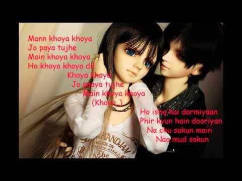 Khoya Khoya lyrics Hero Nikhil DSouza