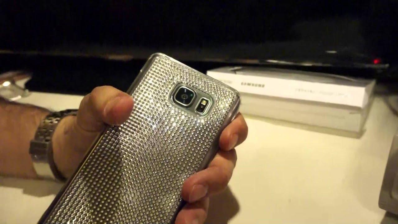 newest a976b cdcc2 Samsung Galaxy Note 5 SWAROVSKI Crystal Silver Case Review