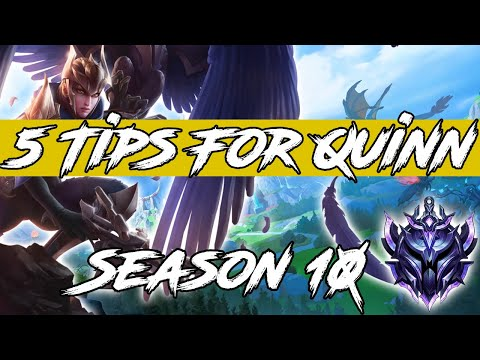 5 Tips Every Quinn NEEDS To Know! League Of Legends Quinn Guide Season 10 2020 !