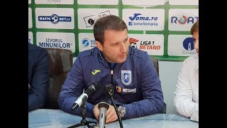 Devis Mangia dupa Gaz Craiova 3-2 | novatv.ro