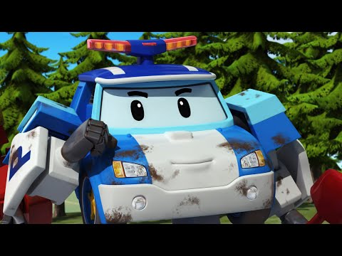 I'm Covered with Mud! | Animation | Cartoon for Kids | Robocar POLI TV |