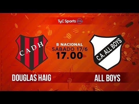 Primera B Nacional: Douglas Haig vs. All Boys | #BNacionalenTyC