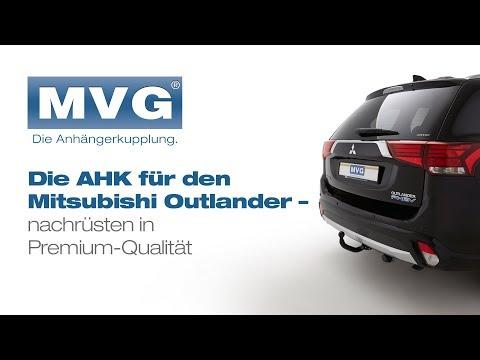 Mitsubishi Outlander: Die abnehmbare Anhängerkupplung