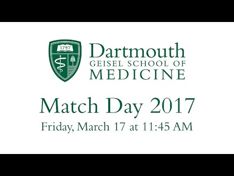 Geisel School of Medicine - Match Day 2017