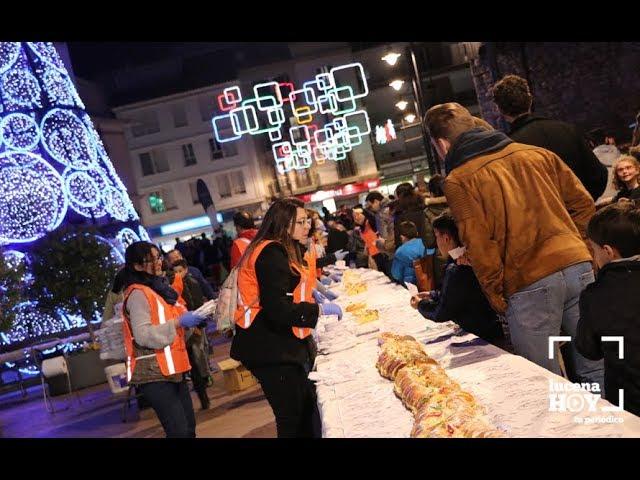 VÍDEO: El Roscón de Reyes vuelve a convertirse en una dulce fiesta solidaria