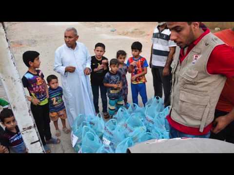 ICARE's From Hunger to Health- food distribution