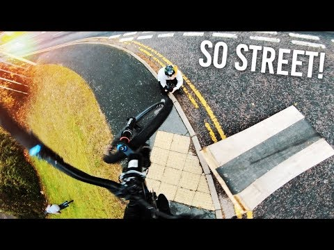 STREET RIDING in COLCHESTER, ENGLAND!