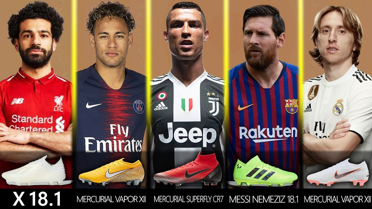 7a0aed819cb 50+ Best Footballers and All New Boots 2018 19 Ft. Ronaldo