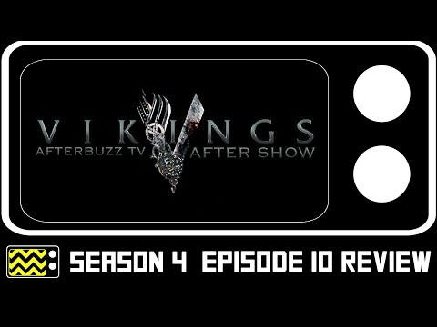 Vikings Season 4 Episodes 9 & 10 Review & After Show | AfterBuzz TV