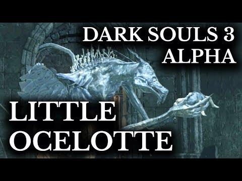 Dark Souls 3 Alpha Cut Content :: Oceiros and Baby Ocelotte :: Unseen Version