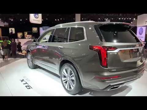Cadillac XT6 2020 модельного года